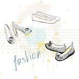 Zapatos de la manera Fotografía de archivo libre de regalías