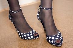 Zapatos de la manera Foto de archivo