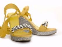 Zapatos de la manera Imágenes de archivo libres de regalías