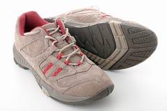 Zapatos de la montaña Foto de archivo