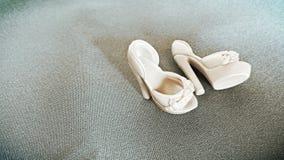 Zapatos de la muñeca Foto de archivo