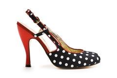 Zapatos de la mujer Fotos de archivo libres de regalías