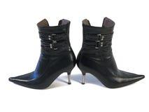 Zapatos de la mujer Foto de archivo libre de regalías