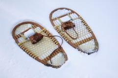 Zapatos de la nieve Imagen de archivo libre de regalías
