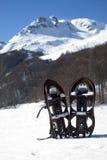 Zapatos de la nieve Fotos de archivo