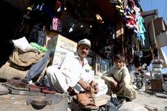 Vida de cada día en valle del golpe violento, Paquistán Fotografía de archivo
