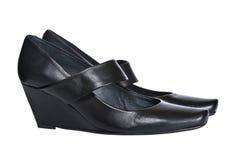 Zapatos de la señora Imagen de archivo libre de regalías