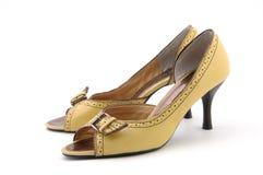 Zapatos de la señora Foto de archivo libre de regalías