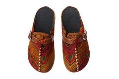 Zapatos de la tribu de Tailandia Imagen de archivo