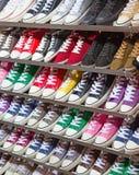 Zapatos de la zapatilla de deporte Fotos de archivo libres de regalías