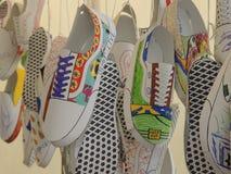 Zapatos de las furgonetas Fotografía de archivo