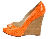 Zapatos de las mujeres Fotos de archivo