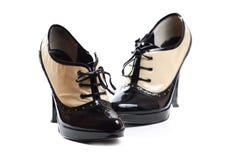 Zapatos de las mujeres fotografía de archivo libre de regalías