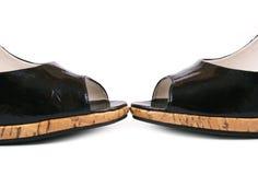Zapatos de las mujeres Foto de archivo libre de regalías