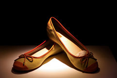 Zapatos de las señoras Fotografía de archivo libre de regalías