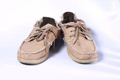Zapatos de lona Foto de archivo libre de regalías
