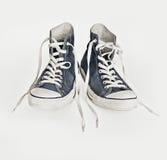 Zapatos de lona retros Fotos de archivo libres de regalías