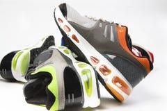 Zapatos de los deportes Foto de archivo libre de regalías