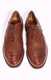 Zapatos de los hombres Fotografía de archivo libre de regalías