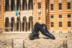 Zapatos de los hombres Fotos de archivo