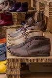 Zapatos de los hombres Imágenes de archivo libres de regalías