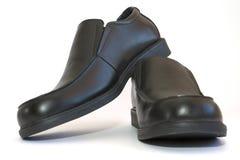 Zapatos de los hombres de negocios Fotografía de archivo