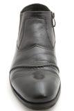 Zapatos de los hombres negros Imagenes de archivo