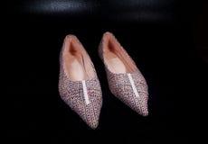 Zapatos de los ladys de los pares Foto de archivo libre de regalías