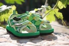 Zapatos de los niños Fotos de archivo