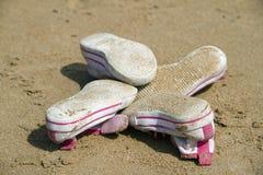 Zapatos de los niños Foto de archivo libre de regalías