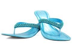 Zapatos de lujo de las señoras Foto de archivo libre de regalías