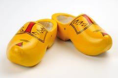 Zapatos de madera Imagen de archivo libre de regalías