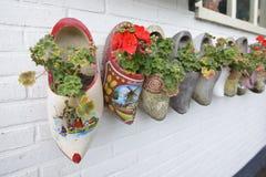 Zapatos de madera Fotos de archivo libres de regalías