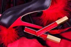 Zapatos de moda atractivos Fotos de archivo libres de regalías