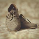 Zapatos de Oxford Imagen de archivo libre de regalías