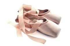 Zapatos de Pointe Foto de archivo libre de regalías