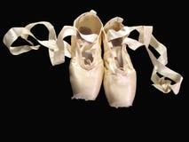 Zapatos de Pointe Fotos de archivo