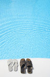 Zapatos de Pool imagenes de archivo