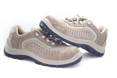 Zapatos de seguridad Fotos de archivo libres de regalías