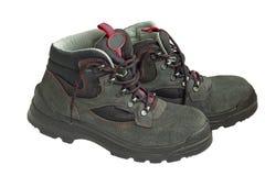 Zapatos de seguridad Fotografía de archivo libre de regalías