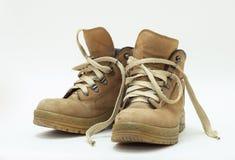 Zapatos de seguridad Imagenes de archivo