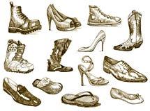 Zapatos de sueños libre illustration