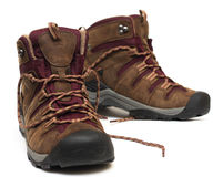 Zapatos de Treking Fotografía de archivo libre de regalías