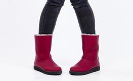 Zapatos de Ugg Imagen de archivo
