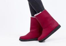 Zapatos de Ugg Imagenes de archivo