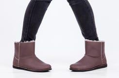 Zapatos de Ugg Foto de archivo libre de regalías
