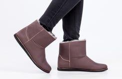 Zapatos de Ugg Fotografía de archivo libre de regalías