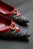 Zapatos del alto talón Fotos de archivo libres de regalías