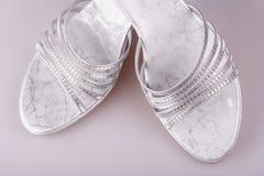 Zapatos del alto talón Fotografía de archivo