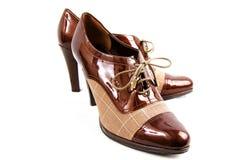 Zapatos del asunto de Womans imagenes de archivo